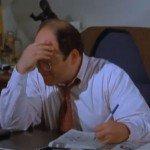 Man financially stressed